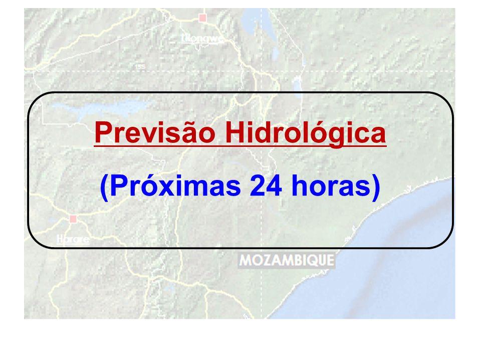 Previsão Hidrológica (Próximas 24 horas)