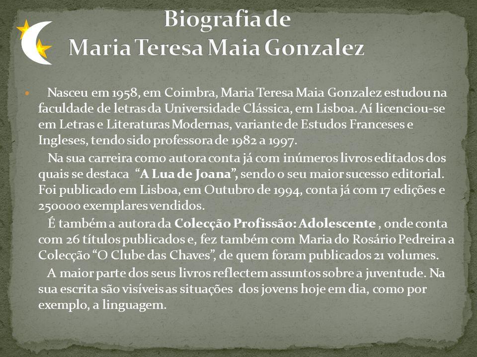 Biografia de Maria Teresa Maia Gonzalez
