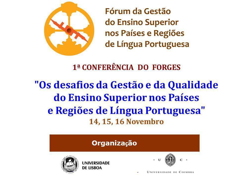 Os desafios da Gestão e da Qualidade do Ensino Superior nos Países