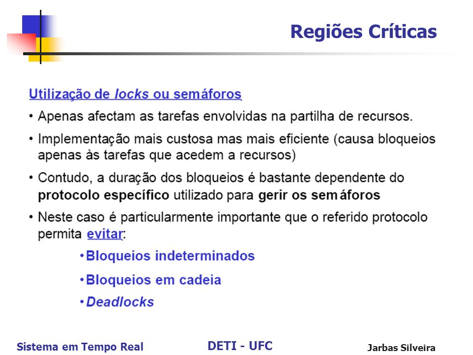 Regiões Críticas Jarbas Silveira
