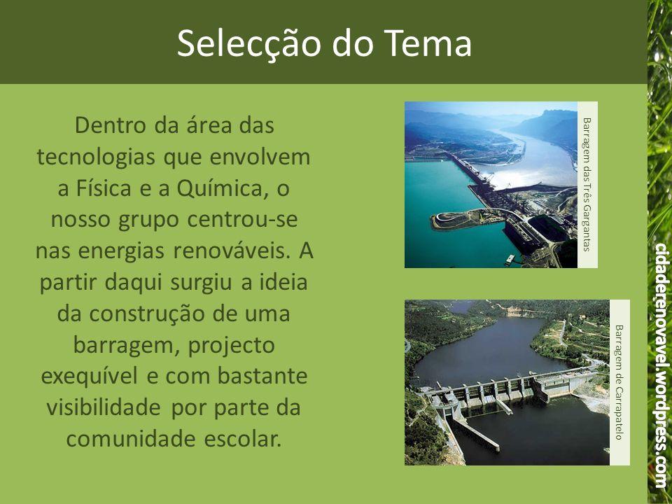 Selecção do Tema cidaderenovavel.wordpress.com.