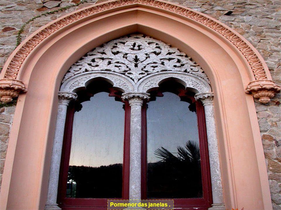 Pormenor das janelas .