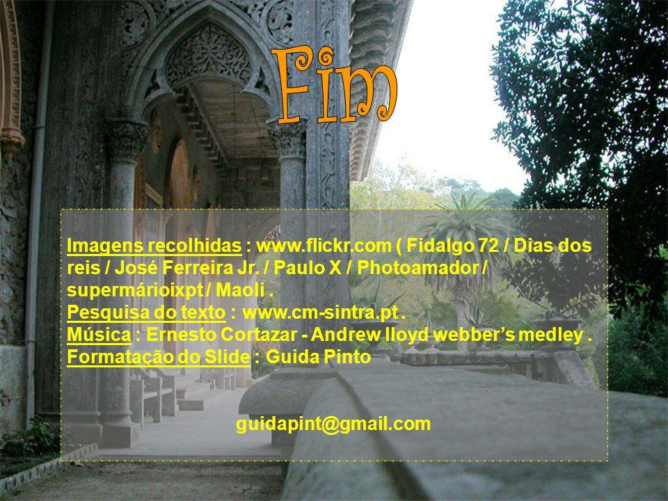 Fim Imagens recolhidas : www.flickr.com ( Fidalgo 72 / Dias dos reis / José Ferreira Jr. / Paulo X / Photoamador / supermárioixpt / Maoli .