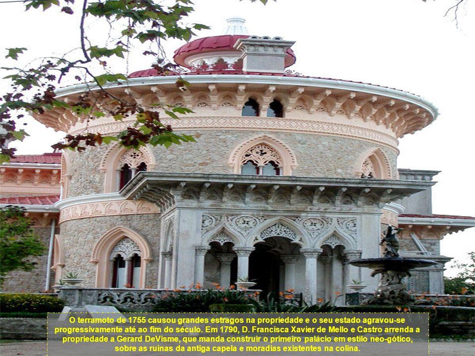 O terramoto de 1755 causou grandes estragos na propriedade e o seu estado agravou-se progressivamente até ao fim do século.