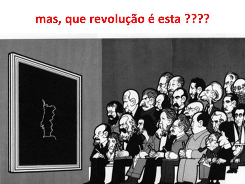 mas, que revolução é esta