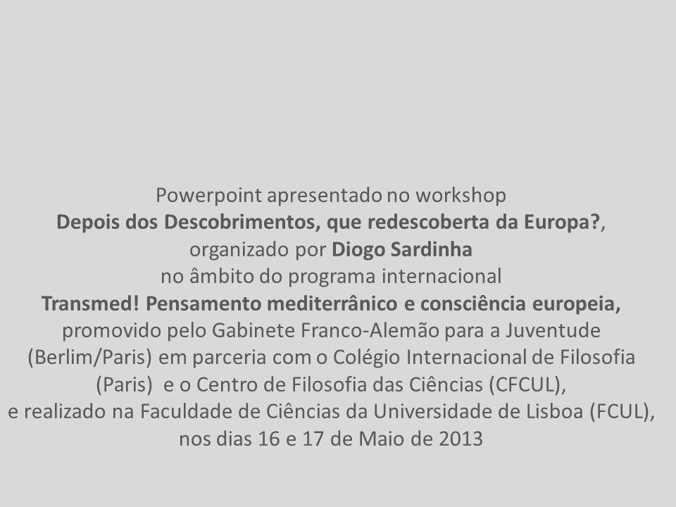 Powerpoint apresentado no workshop