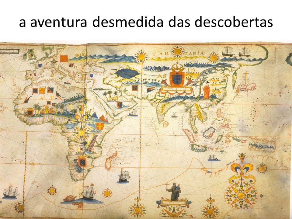 a aventura desmedida das descobertas