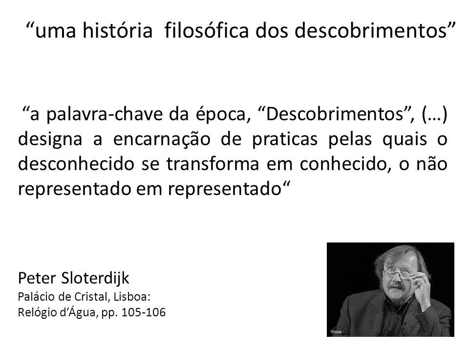 uma história filosófica dos descobrimentos