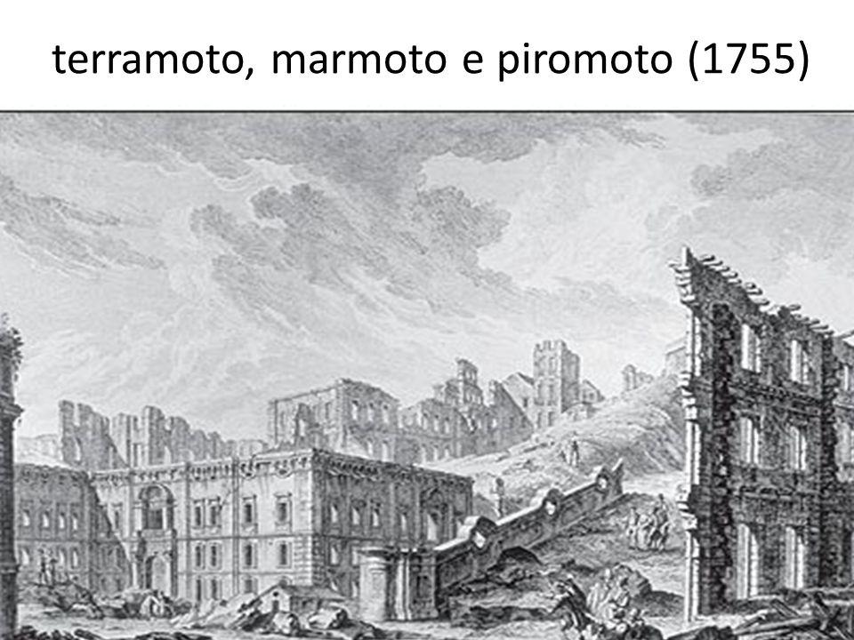 terramoto, marmoto e piromoto (1755)