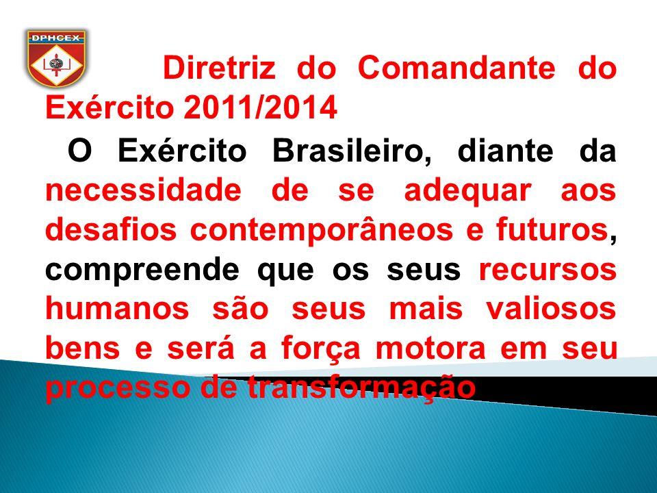 Diretriz do Comandante do Exército 2011/2014