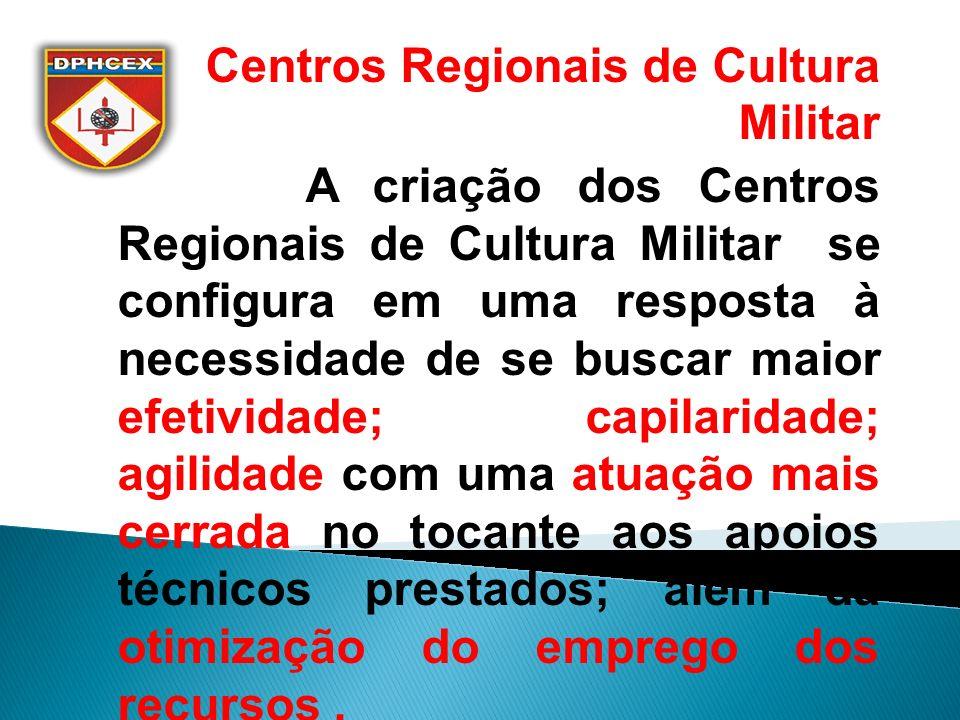 Centros Regionais de Cultura Militar