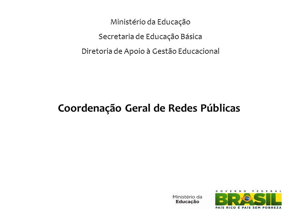 Coordenação Geral de Redes Públicas