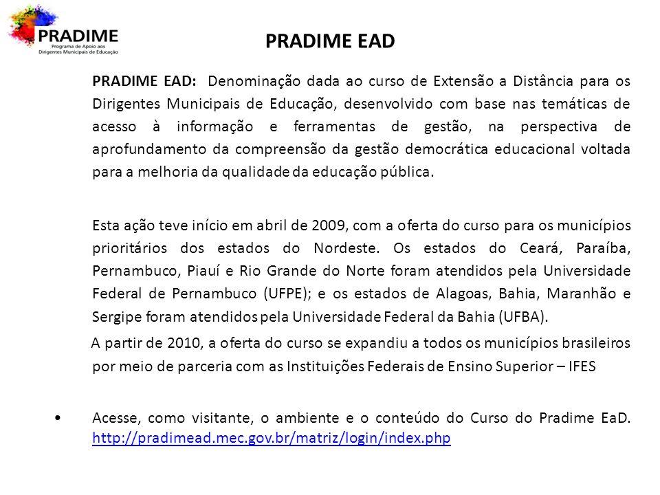 PRADIME EAD