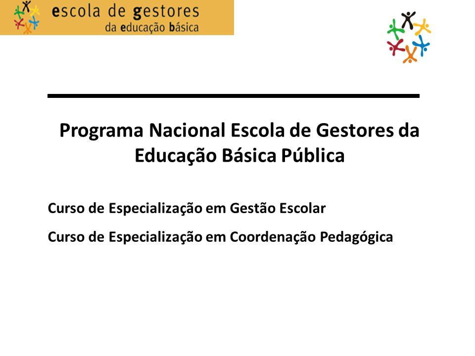Programa Nacional Escola de Gestores da Educação Básica Pública