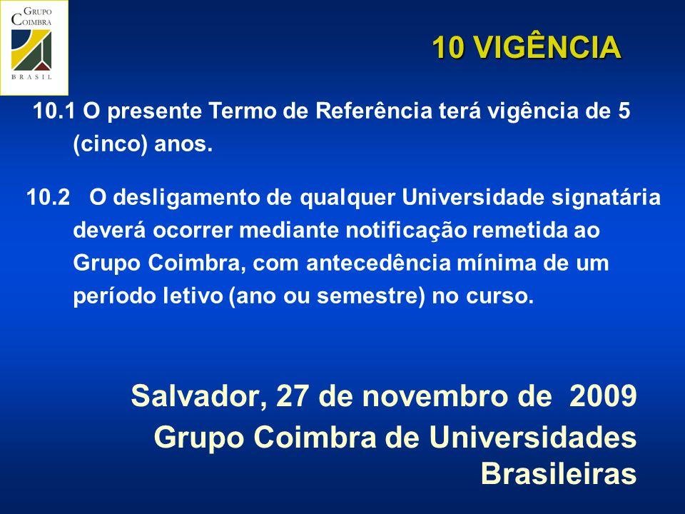 Salvador, 27 de novembro de 2009