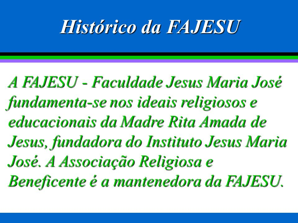 Histórico da FAJESU