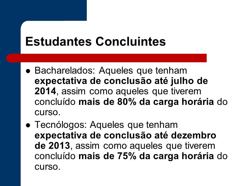 Estudantes Concluintes