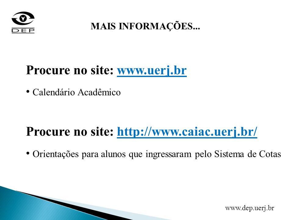 Procure no site: www.uerj.br
