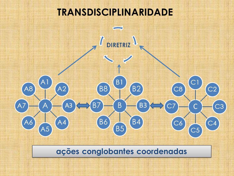 TRANSDISCIPLINARIDADE ações conglobantes coordenadas
