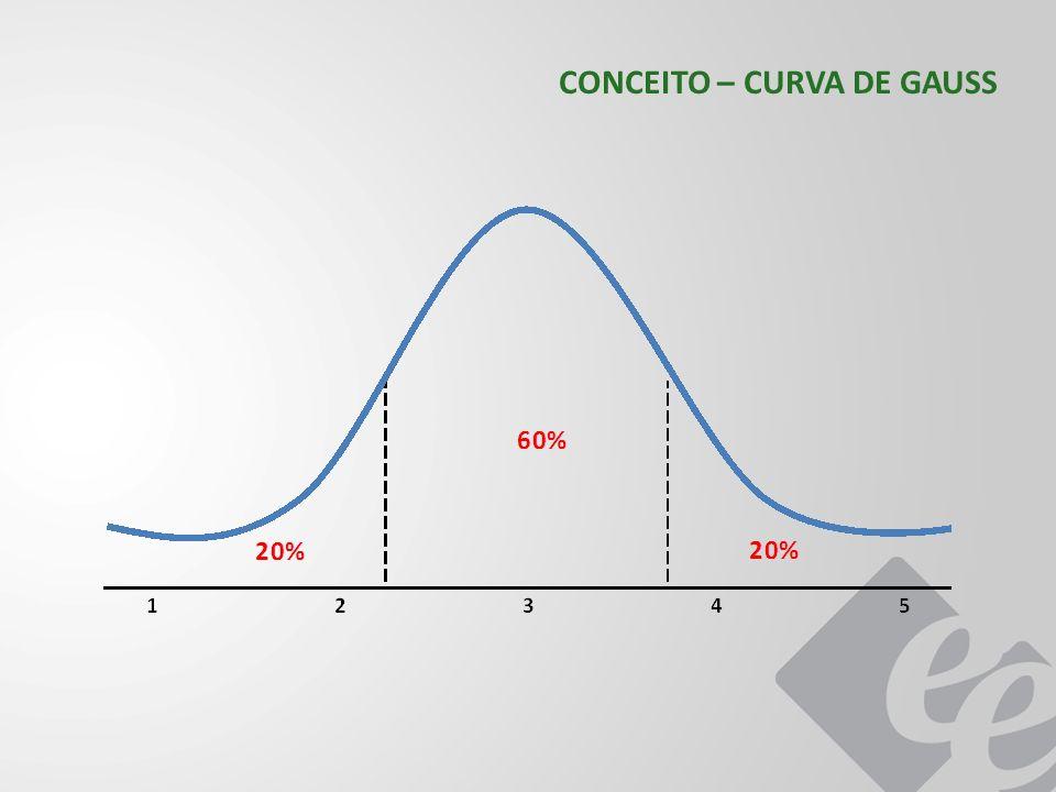 CONCEITO – CURVA DE GAUSS