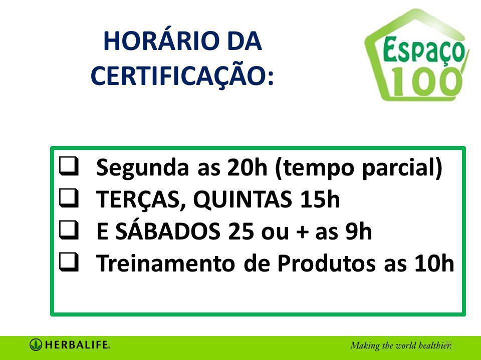 HORÁRIO DA CERTIFICAÇÃO: