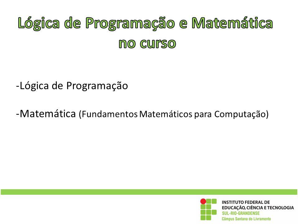 Lógica de Programação e Matemática