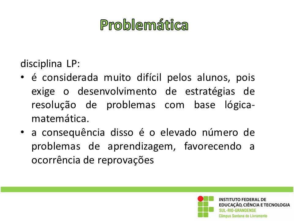 Problemática disciplina LP: