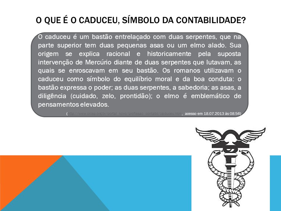 O que é o Caduceu, Símbolo da Contabilidade