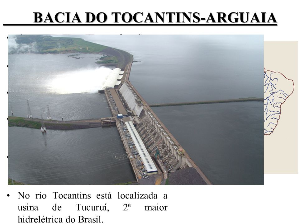 BACIA DO TOCANTINS-ARGUAIA