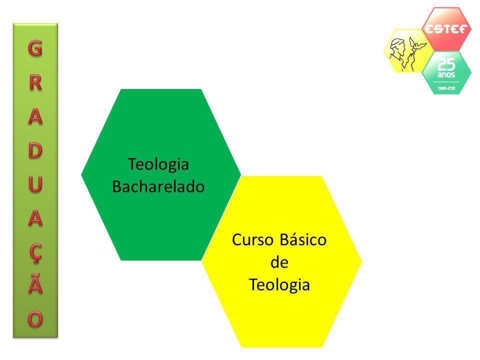 GRADUAÇÃO Teologia Bacharelado Curso Básico de Teologia