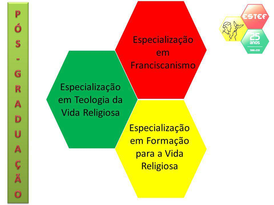 Especialização em Franciscanismo