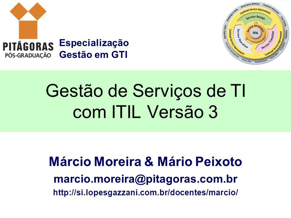 Gestão de Serviços de TI com ITIL Versão 3