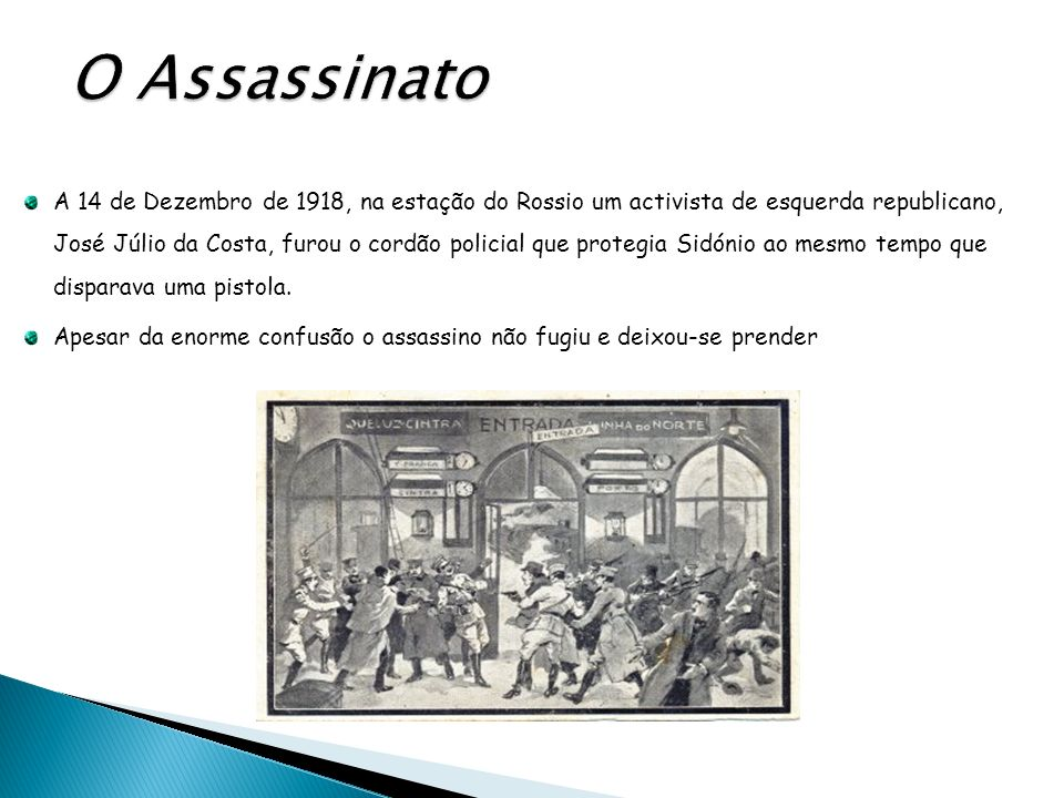 O Assassinato