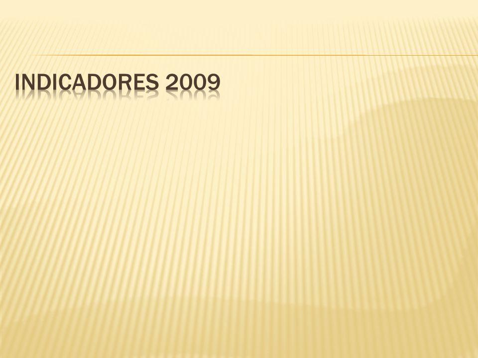 Indicadores 2009