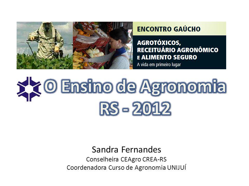 O Ensino de Agronomia RS - 2012