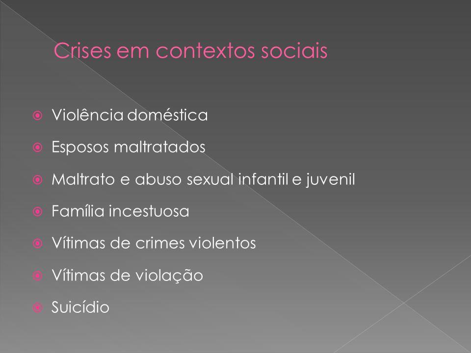Crises em contextos sociais
