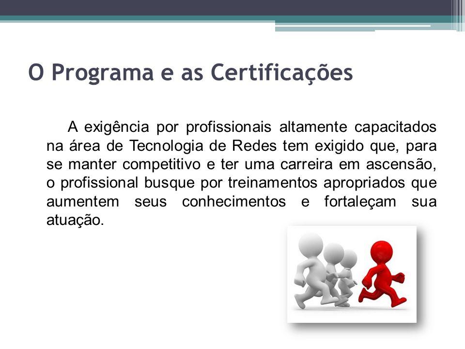 O Programa e as Certificações