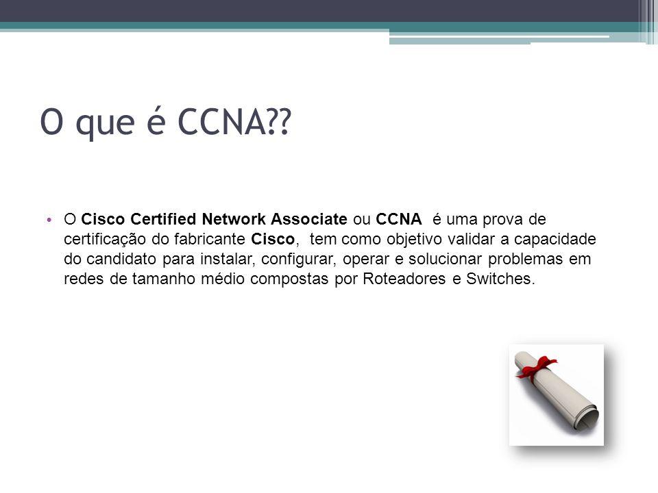 O que é CCNA