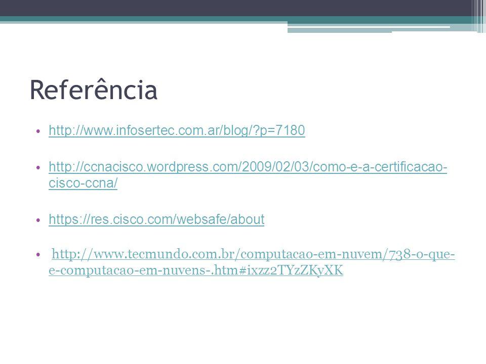 Referência http://www.infosertec.com.ar/blog/ p=7180