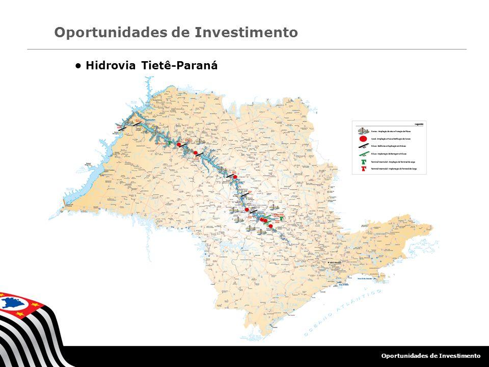 • Hidrovia Tietê-Paraná