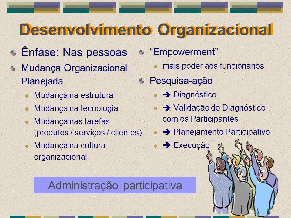Desenvolvimento Organizacional