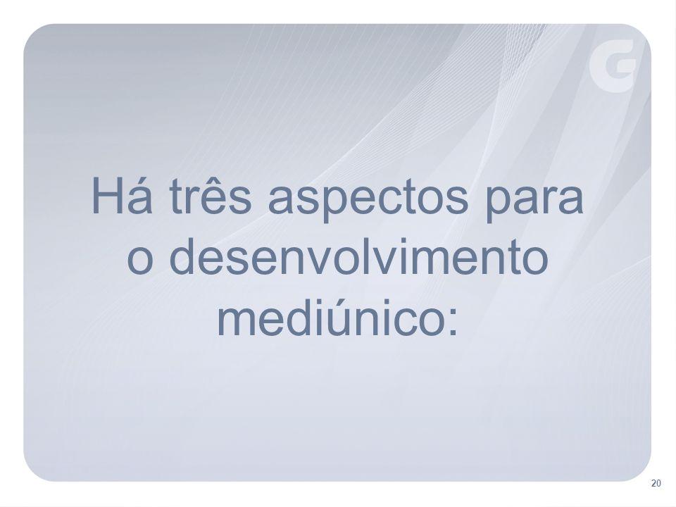 o desenvolvimento mediúnico: