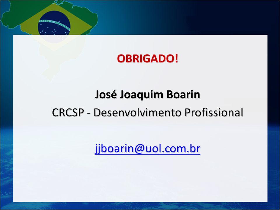 CRCSP - Desenvolvimento Profissional