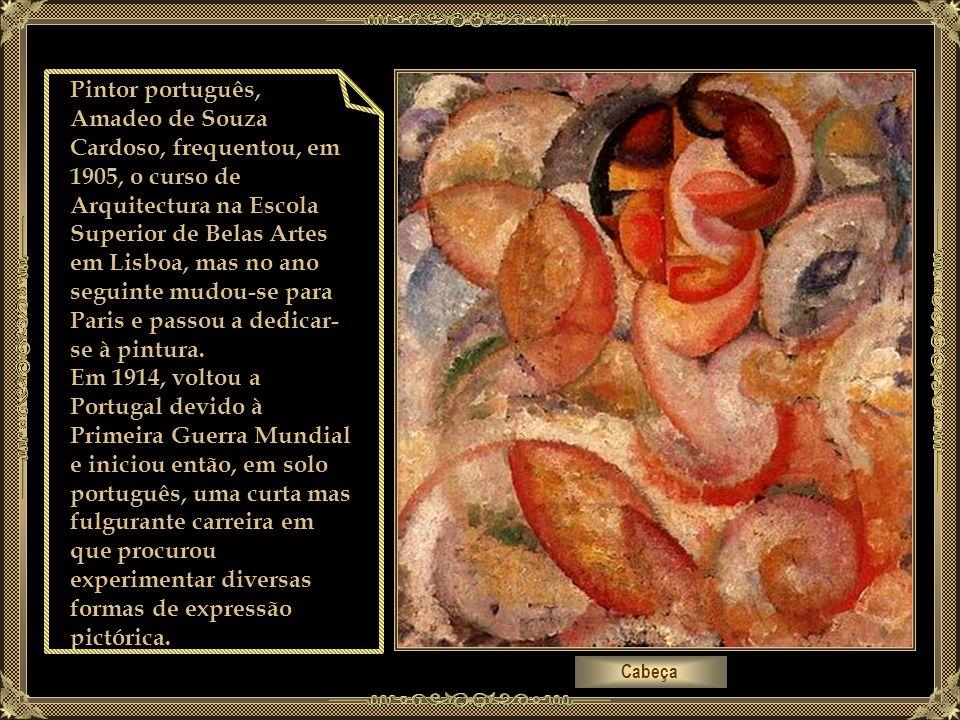 Pintor português, Amadeo de Souza Cardoso, frequentou, em 1905, o curso de Arquitectura na Escola Superior de Belas Artes em Lisboa, mas no ano seguinte mudou-se para Paris e passou a dedicar-se à pintura.