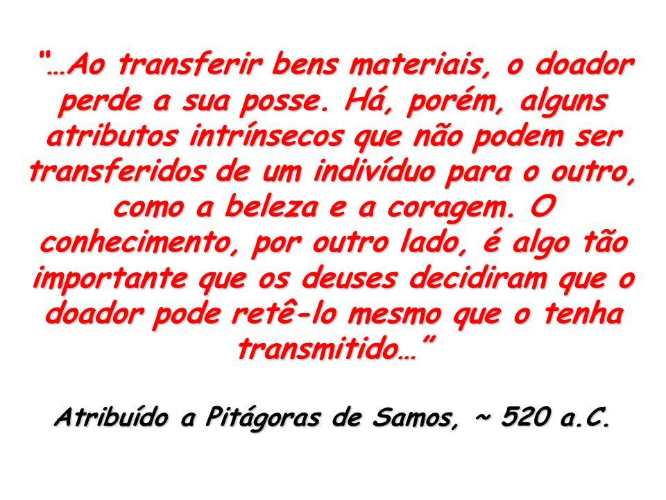 Atribuído a Pitágoras de Samos, ~ 520 a.C.