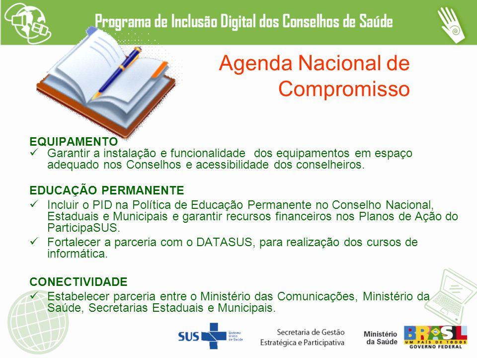 Agenda Nacional de Compromisso
