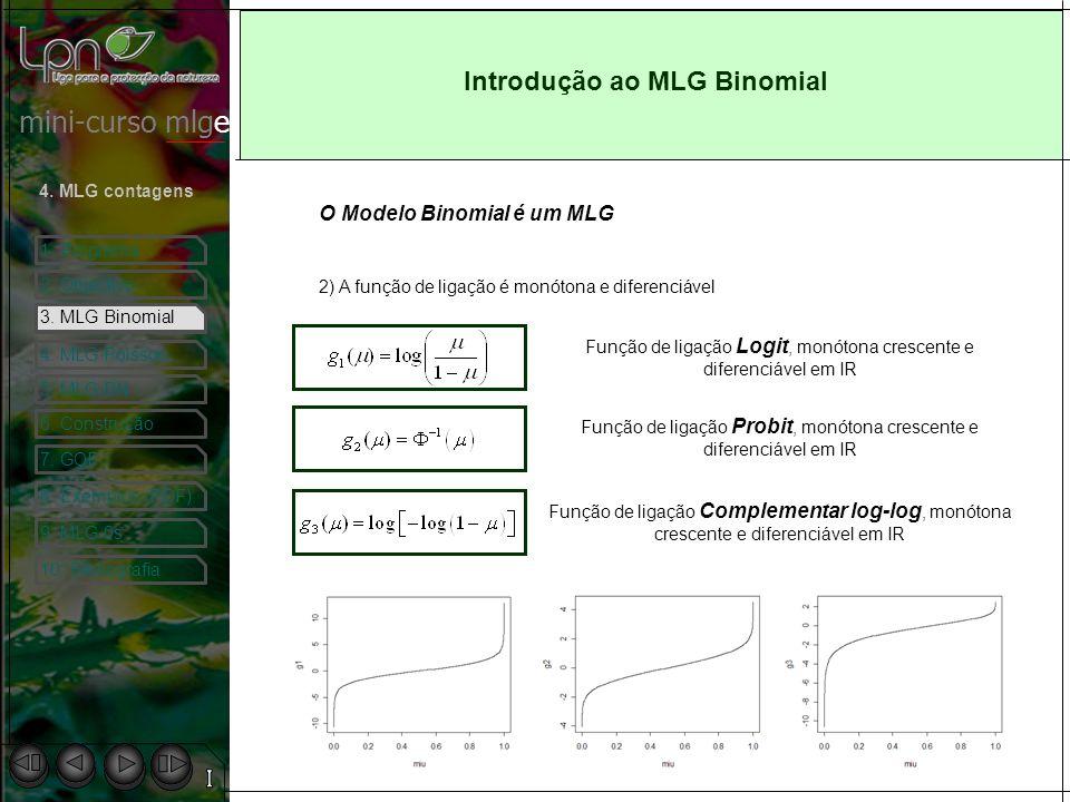 Introdução ao MLG Binomial