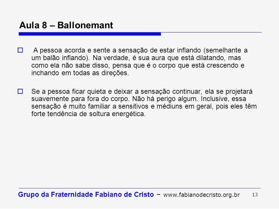 Aula 8 – Ballonemant
