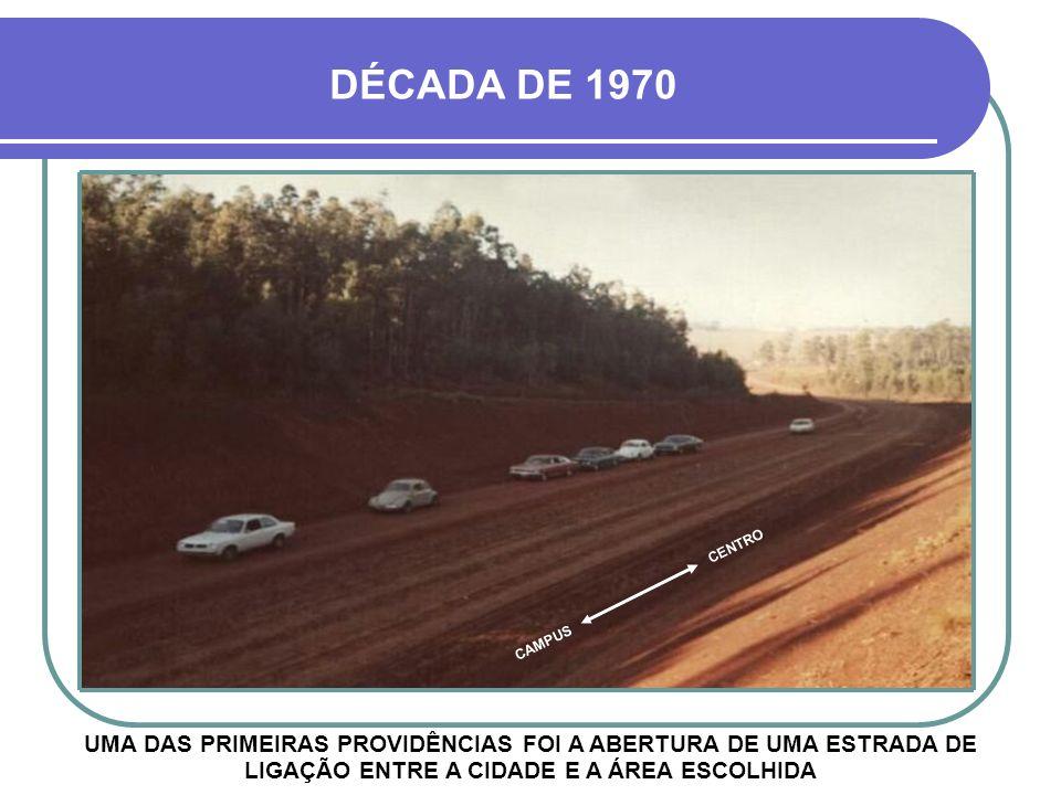 DÉCADA DE 1970 CENTRO. CAMPUS.