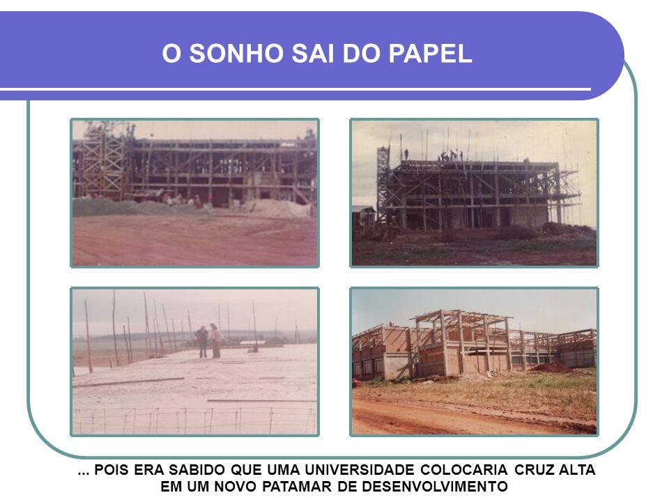 O SONHO SAI DO PAPEL ...